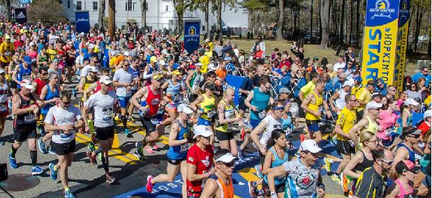 Altimetria maratona de boston