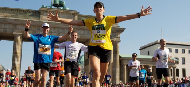 Dia do maratonista corredor