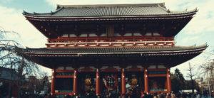Maratona Tóquio 2021 templo