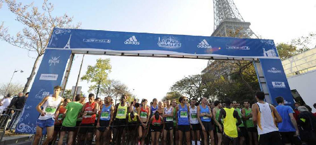 Maratona(s) na França versailles