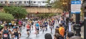 Premiação maratona de chicago