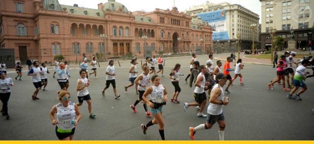 Maratona de Buenos Aires: correndo na capital portenha