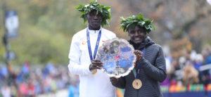 Vencedores da maratona de nova york