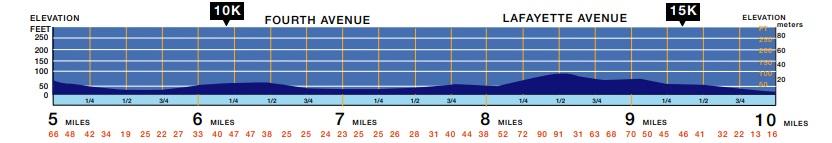 altimetria maratona de nova york segundo