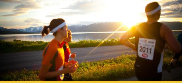maratona do sol da meia-noite